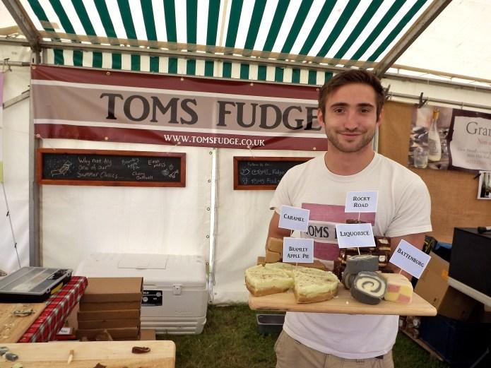 glynde food festival toms fudge