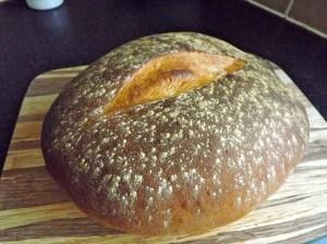 basic white cob loaf