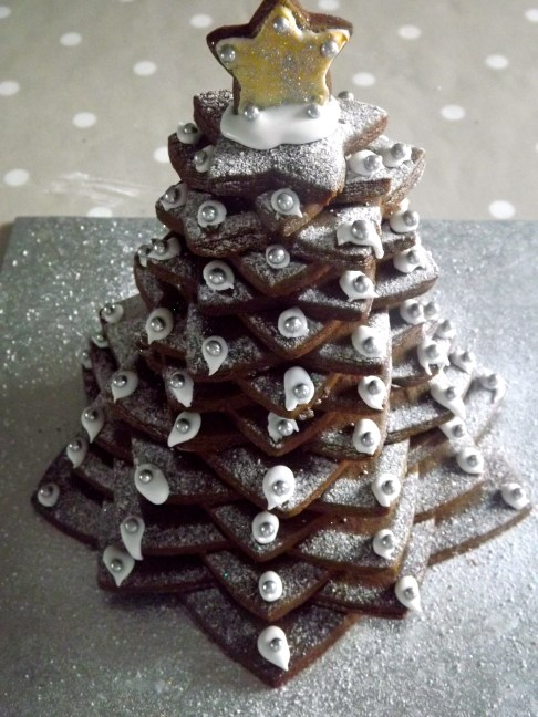 gingerbread christmas tree
