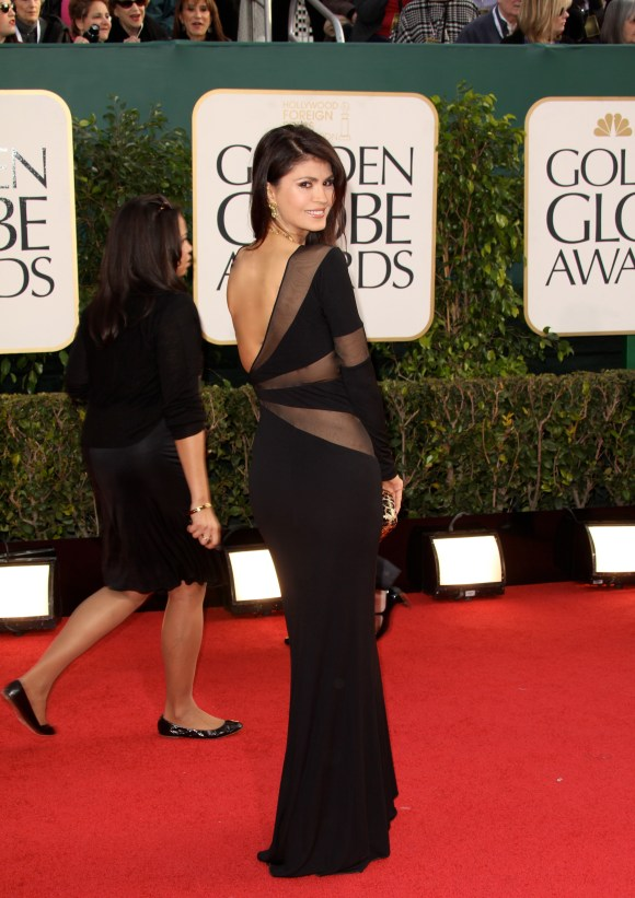 This is the final look for Mrs. Etkin for The Golden Globes 2013