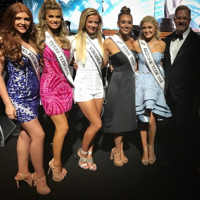 With other contestants