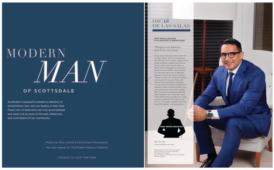 MODERN MAN for Modern Luxury Scottsdale