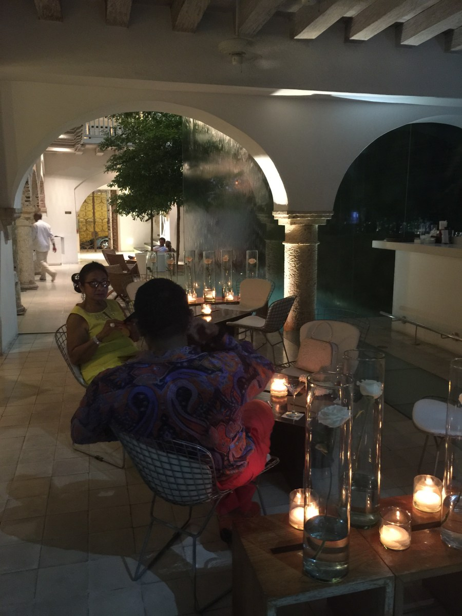 Tcherassi Hotel Lobby with mom