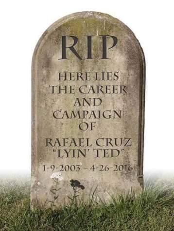 CRUZ CAREER DEAD