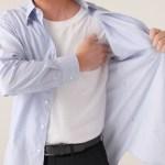脇の臭いが取れないTシャツの脇の臭いをスッキリ落とす洗濯方法