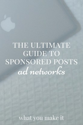 The Ultimate Guide to Sponsored Posts: Ad Networks