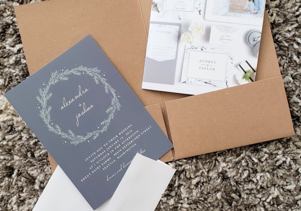 modern wedding invitations with basic invite: a review + coupon code