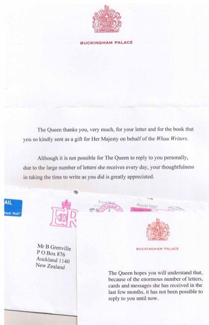 The Queen receives her copy