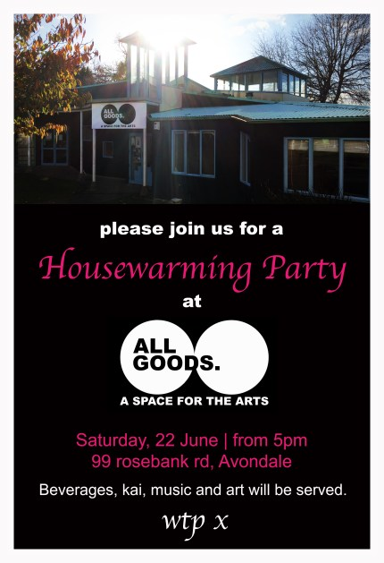 Housewarming Party invite