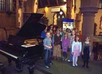 Students at 150309 piano concert