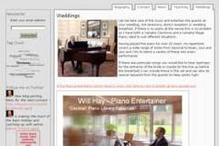Wedding Piano Page