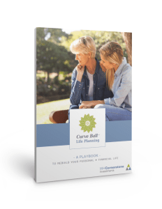 Curve Ball Life Planning™ REBUILD workbook cover