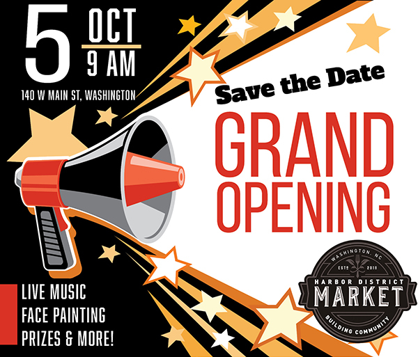 Harbor District Market Grand Opening