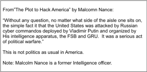 """""""The Plot to Hack America"""" by Malcolm Nance"""