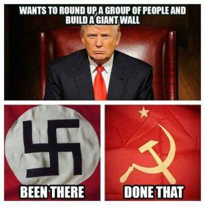 Trump Hypocrisy - Supports Russia & Nazis