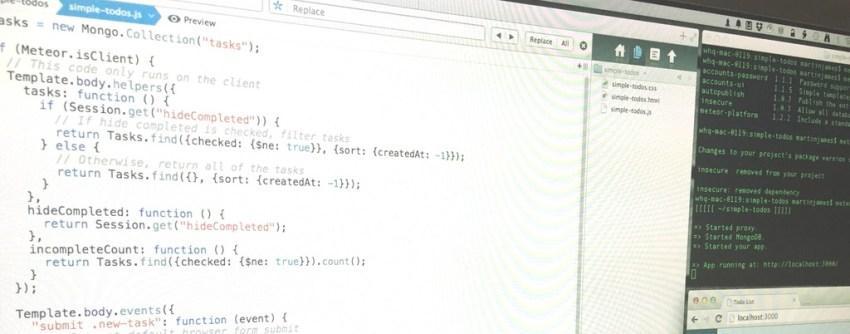 Coding a Meteor Demo