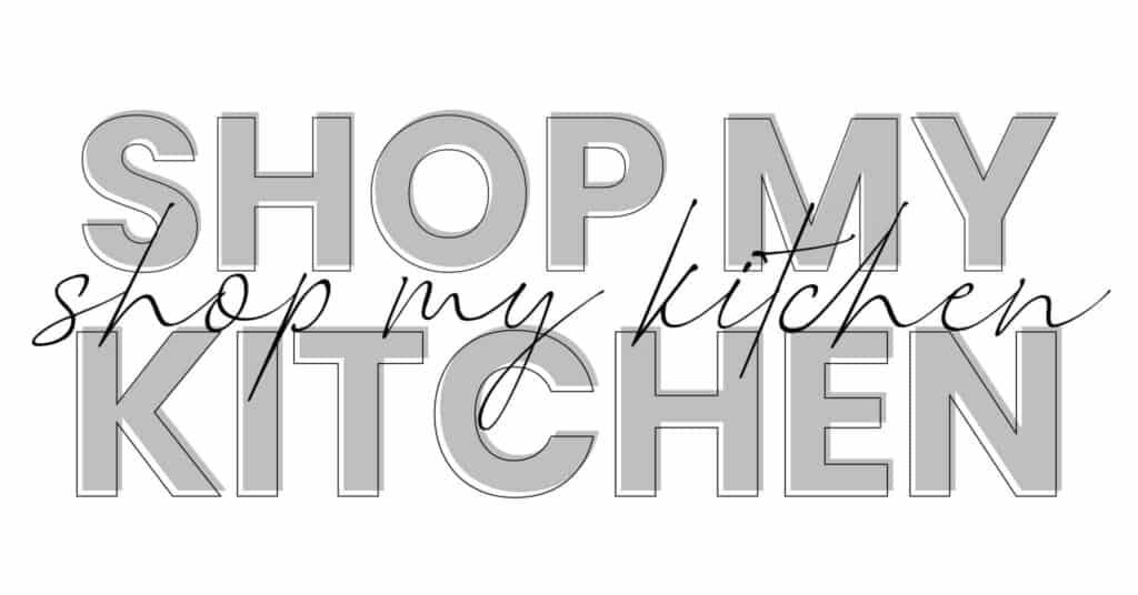 Shop my Kitchen Graphic