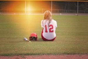 photo: softball player