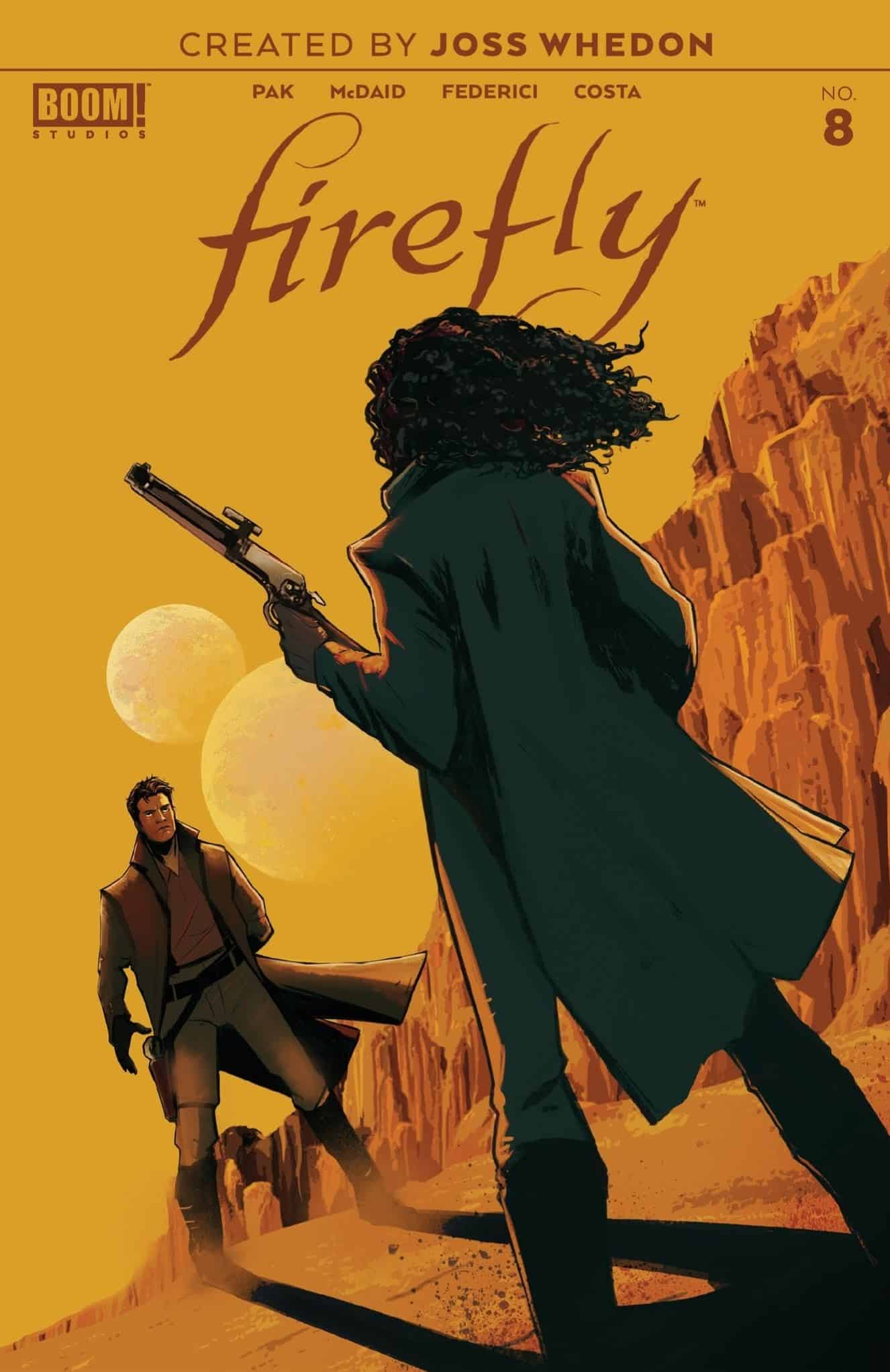 Comic Watch Review: Firefly#8