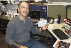 S'NS Web Editor Chris DiVirgilio is a retired Marine, and committed to serving other veterans who now use wheelchairs.