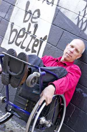 Frank Barham Has the Music in Him That He's Using to Support Whirlwind Wheelchairs - 12