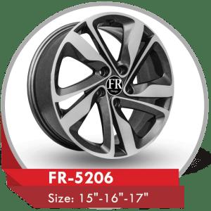 FR-5206 ALLOY WHEELS FOR HYUNDAI ELANTRA
