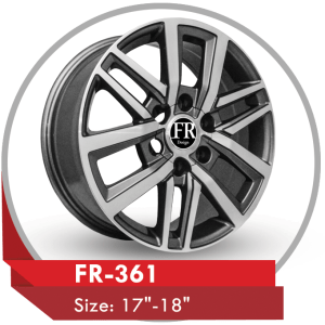 FR-361 ALLOY WHEEL FOR TOYOTA HILUX TRUCK AND FORTUNER SUV CARS