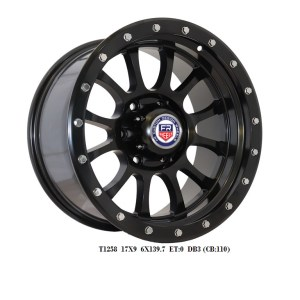 FR T1258 ALLOY WHEELS RIMS FOR 4X4 TRUCKS, SUVs AND JEEP