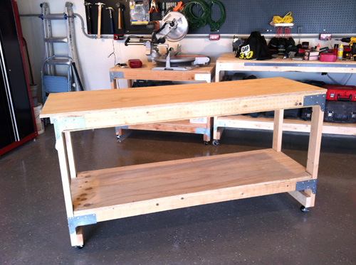Diy Mobile Work Bench Download Make Your Own Bird House
