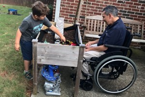 Accessible Dirt Box