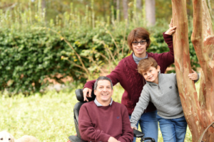Wheelchair Dad and Family