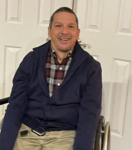 Dad in Wheelchair