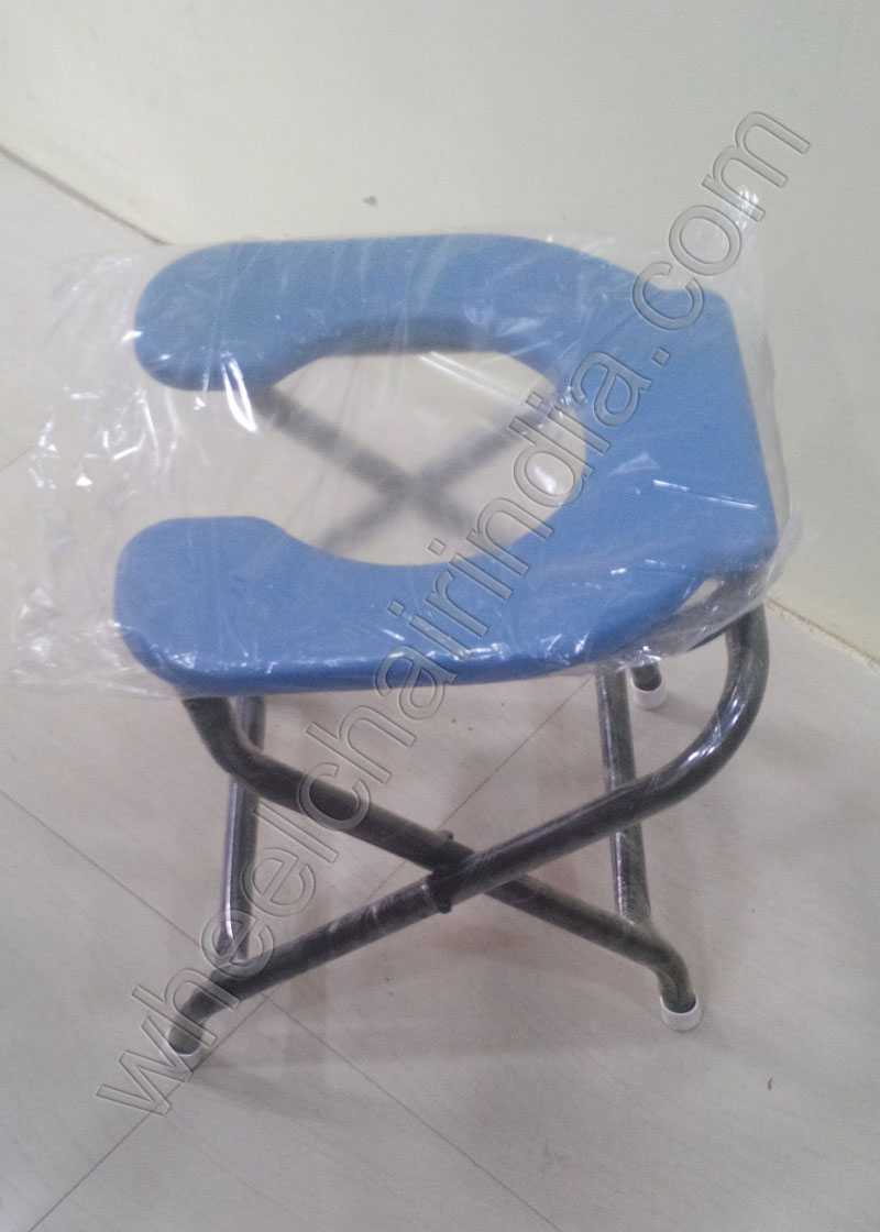 Indian Commode Stool For Elderly Open Front Commode Stool