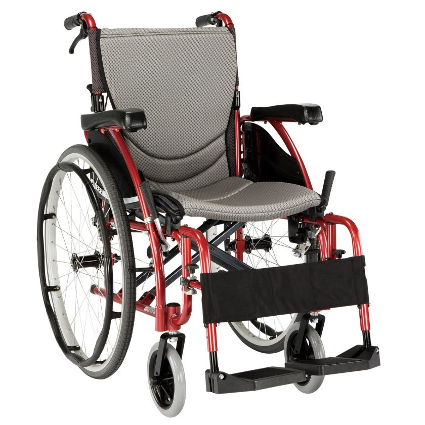 KARMA S-ERGO 125 SELF-PROPELLING WHEELCHAIR