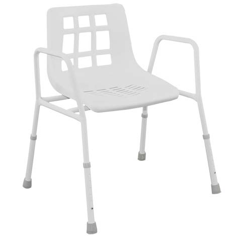 BARIATRIC ADJUSTABLE SHOWER CHAIR