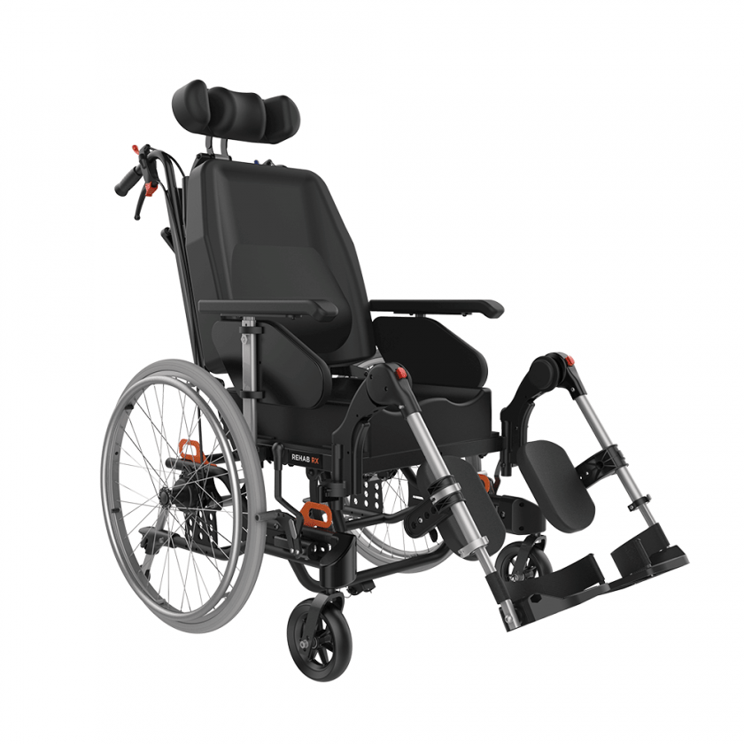 ASPIRE TILT IN SPACE WHEELCHAIR REHAB RX WM2048