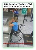TSA Detains Disabled Child