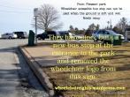Wheelchair Access Point PleasantBusStop