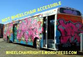 Bus Not Wheelchair Accessible REDUCED