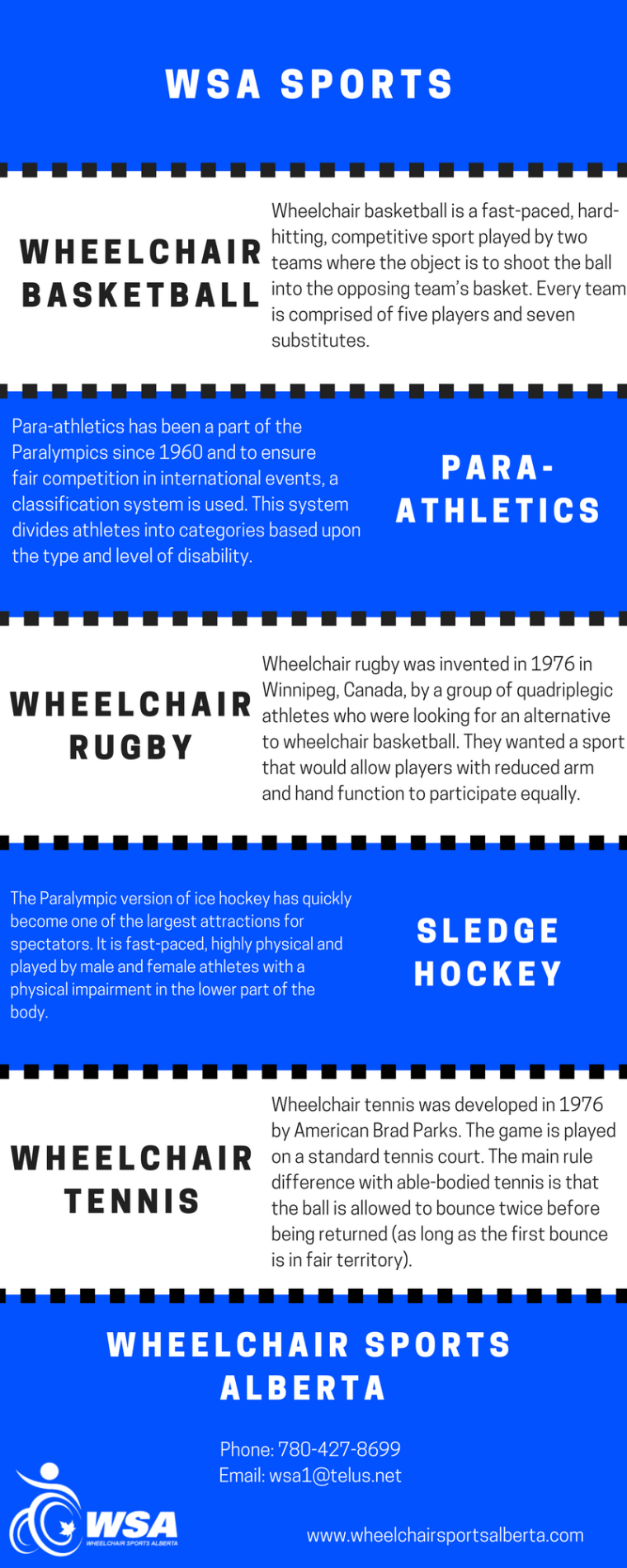 WSA Sports Infographic