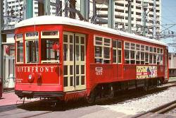 New Orleans Riverfront Streetcar