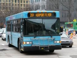 Bus route 28X provides service to/from Pittsburgh International Airport.