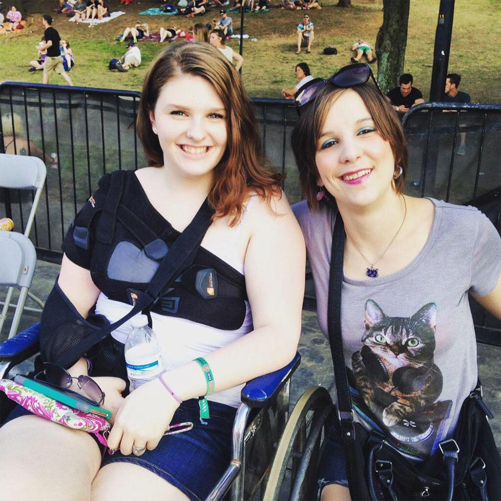 Rachael Cawthon at Shaky Knees Music Festival