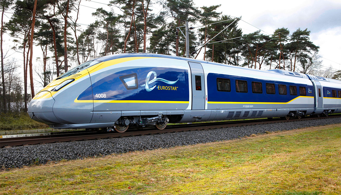The Eurostar is a wheelchair accessible high-speed train.