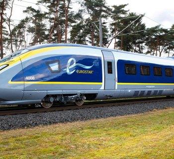 The Eurostar is a wheelchair accessible high-speed train.