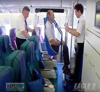 Eagle Lift Aisle Chair Wheelchair