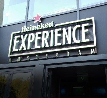 Wheelchair accessible Heineken Experience in Amsterdam, Netherlands.
