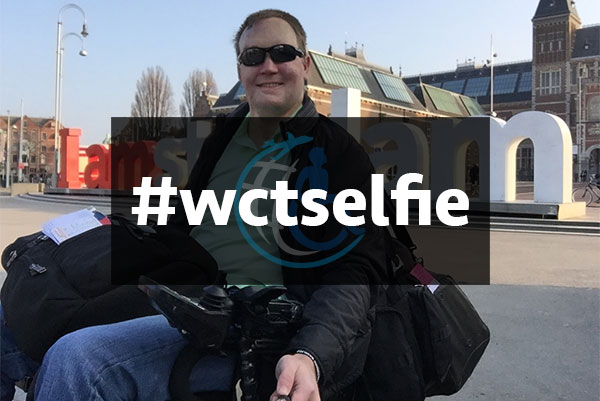 The #wctselfie Wheelchair Travel Selfie Project