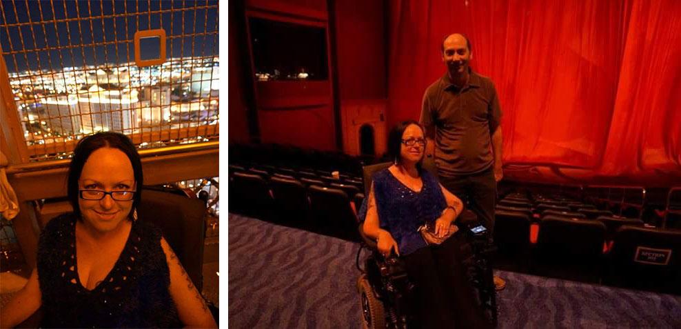 Las Vegas Wheelchair Access, Eiffel Tower, Cirque du Soleil