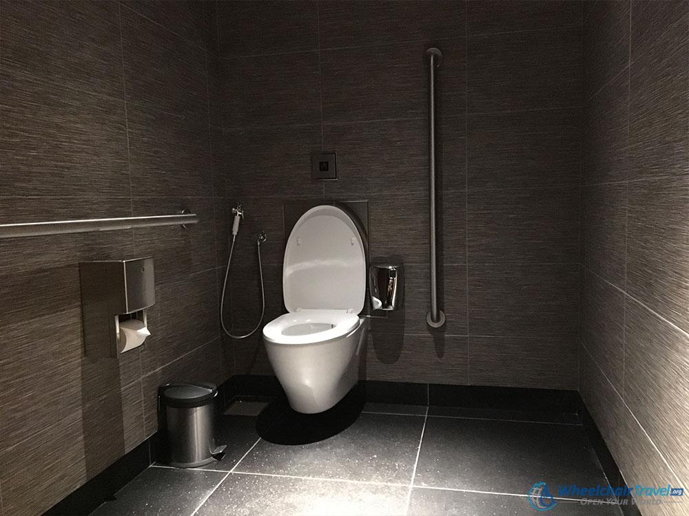 Burj Khalifa Wheelchair Access Bathroom